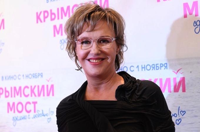 Актриса Ирина Розанова