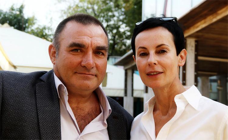 Сергей Векслер и Ирина Апексимова