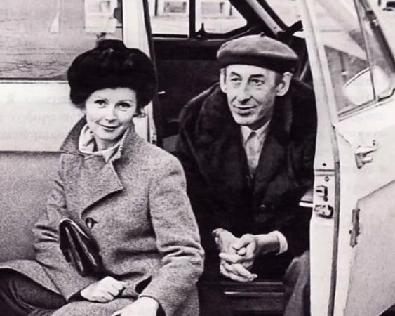 Валентина Титова и Владимир Басов