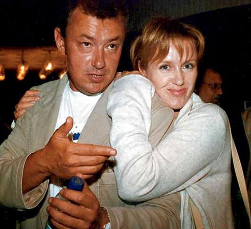 Ирина Розанова и Григорий Беленький