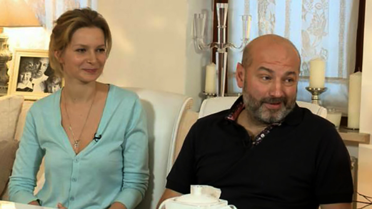 Александра Флоринская и Николай Билык