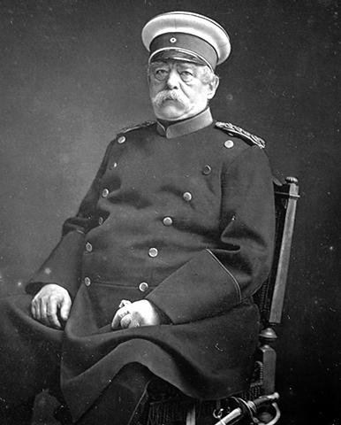 Отто фон Бисмарк в 1875 г.