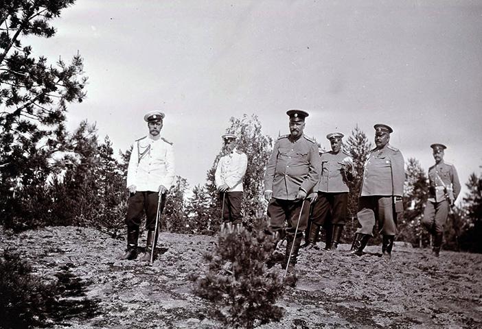 Евгений Боткин и Николай II
