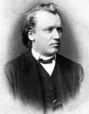 Иоганнес Брамс в 1872 г.