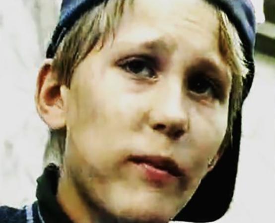 Павел Чинарев в детстве