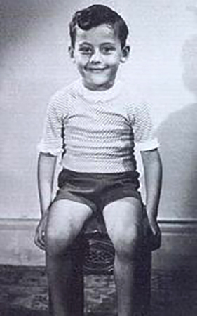 Жан Рено в детстве