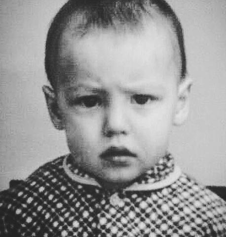 Антон Батырев в детстве