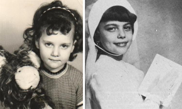 Мирей Матьё в детстве