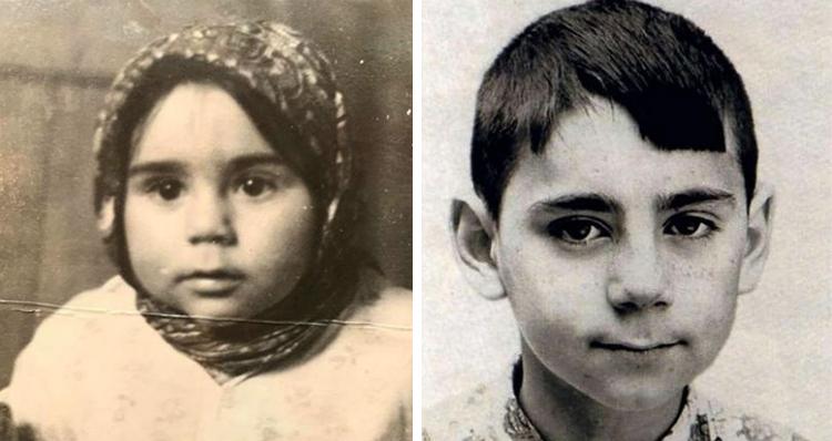 Иосиф Пригожин в детстве