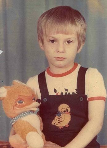 Никита Емшанов в детстве