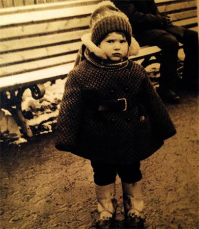 Татьяна Колганова в детстве
