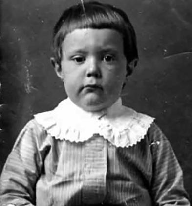 Борис Полевой в детстве