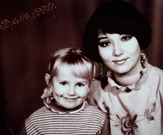 Зоя Бербер с мамой