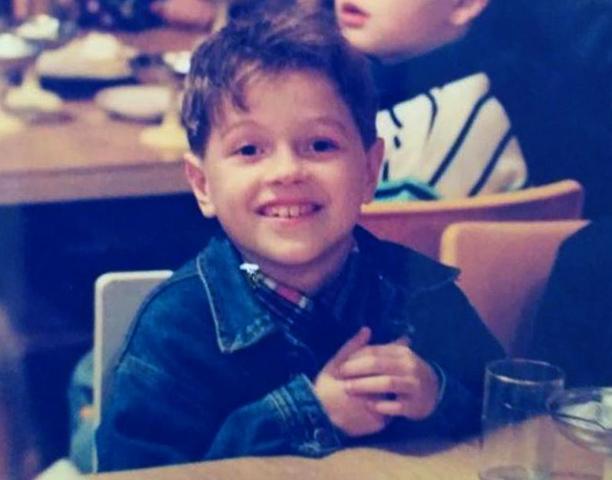 Олег Савченко в детстве