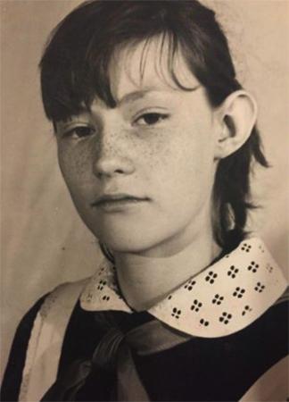 Светлана Журова в детстве