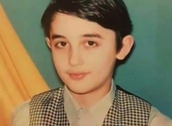 Рустам Саидахмедов в детстве