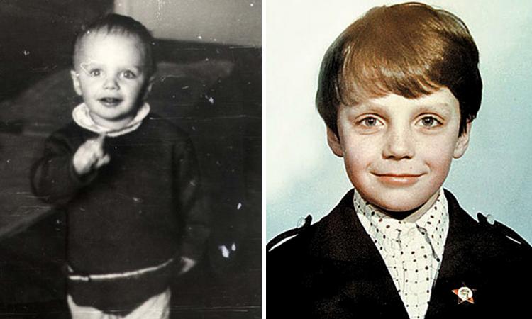 Иван Ткаченко в детстве