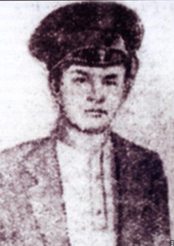 Иван Панфилов в детстве