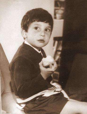 Нил Гейман в детстве