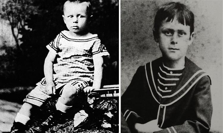 Томас Манн в детстве