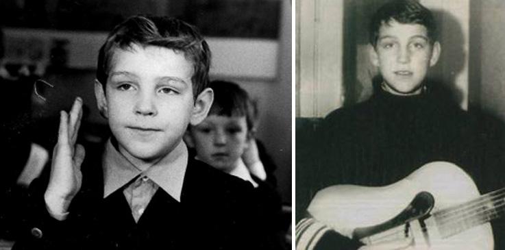 Виталий Аксенов в детстве