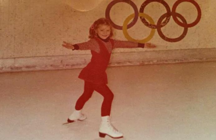 Мария Аниканова в детстве