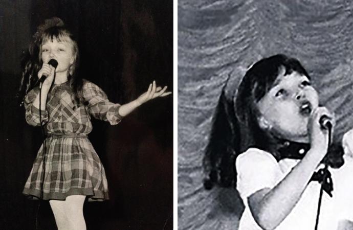 Юлия Маврина в детстве