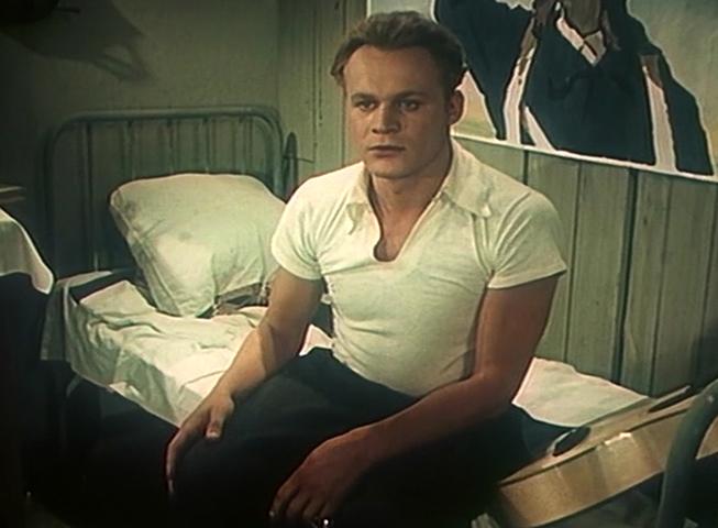 В фильме «Добровольцы» (1958)