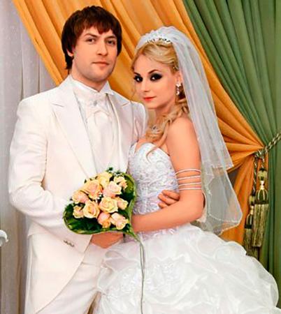 С мужем Константином