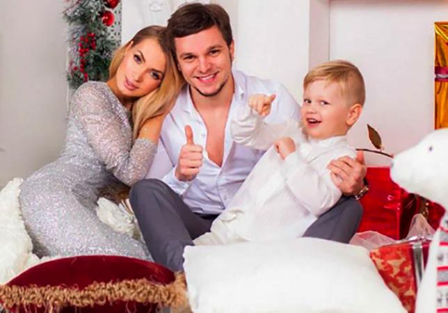 С Антоном Гусевым и сыном Даниэлем