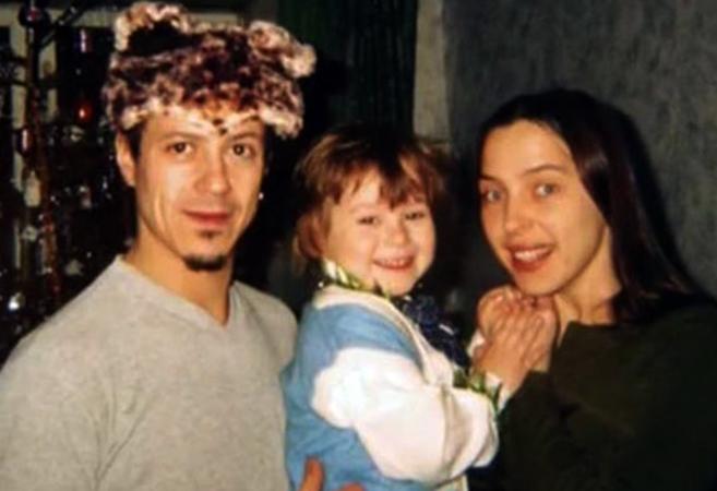 С первой женой Ольгой и сыном Марком