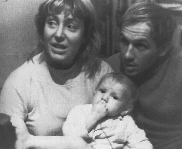 С женой Ириной и дочерью Екатериной
