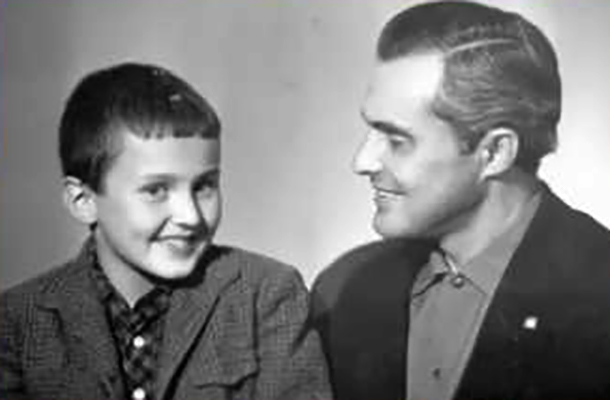 Игорь Матвиенко с отцом