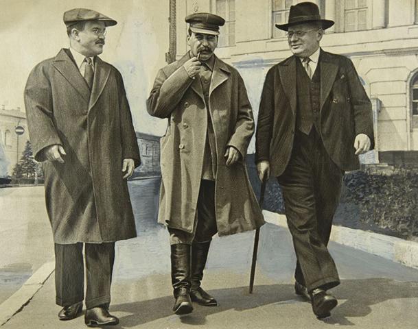 Молотов, Сталин, Литвинов