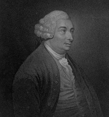 Гравюра Юма из первого тома его Истории Англии, 1754 г.