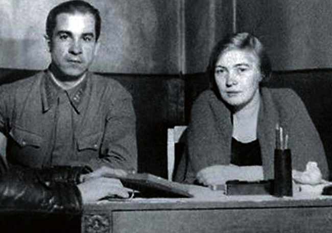 С третьим мужем Георгием Макогоненко