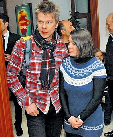 С мужем Кириллом