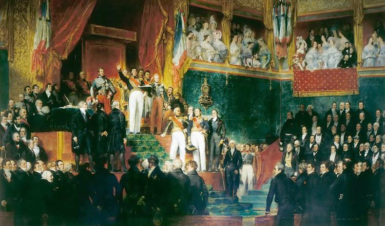Коронация Луи-Филиппа I (1830 г.)