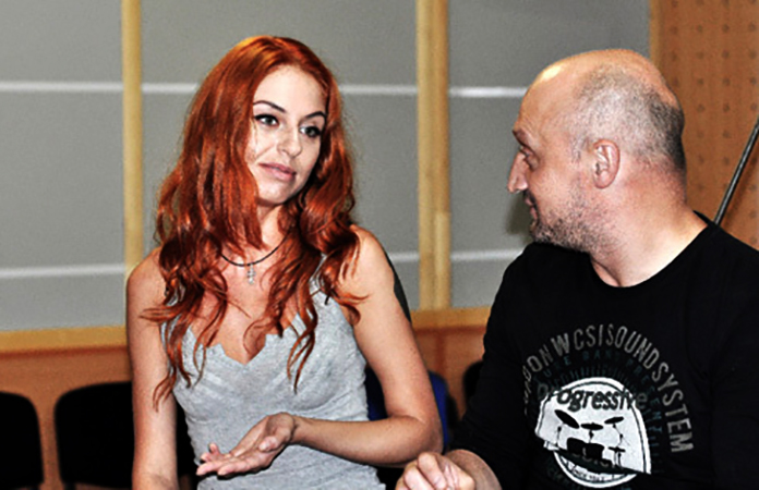 Ирина Забияка и Гоша Куценко