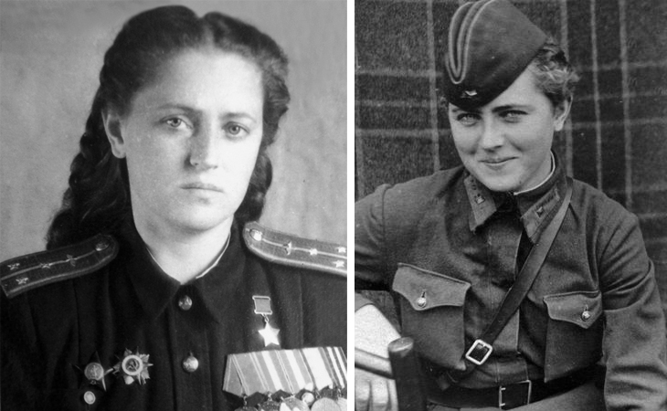 Летчица Евгения Жигуленко