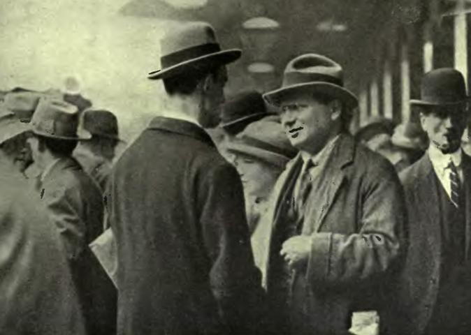 Максим Литвинов в Великобритании (1919)