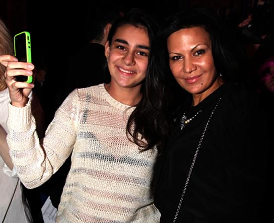Лейла Фаттахова и дочь Лиза