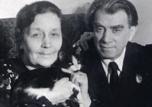 Рейнгольд Глиэр и Мария Ренквист