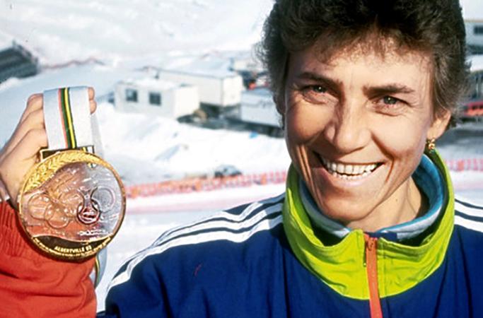 Раиса Сметанина с медалью