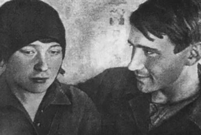 Ольга Берггольц и Николай Молчанов