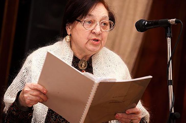 Ирина Токмакова в старости