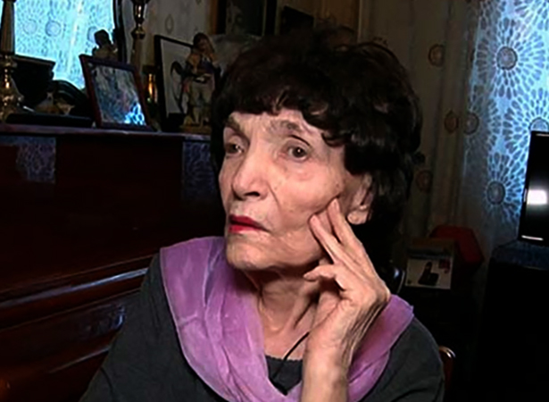Ольга Воронец в старости