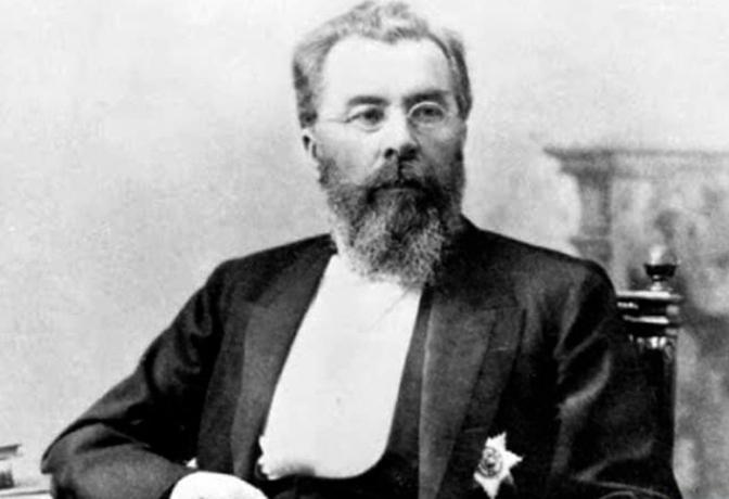 Николай Склифосовский в старости