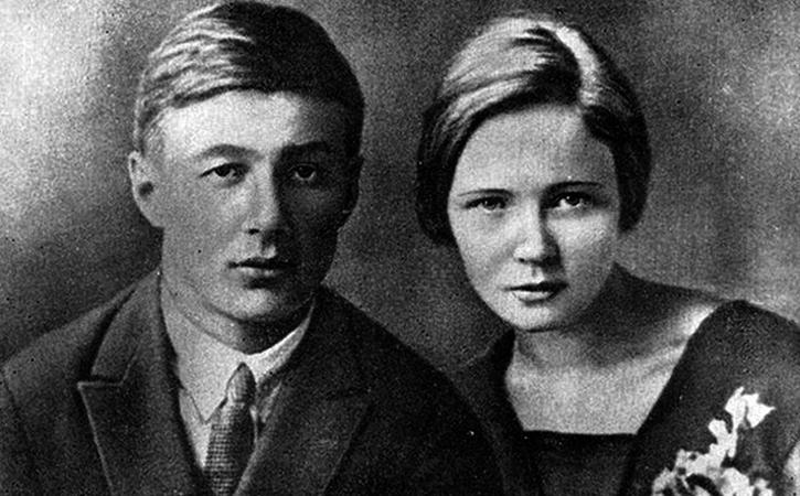 Ольга Берггольц и Борис Корнилов