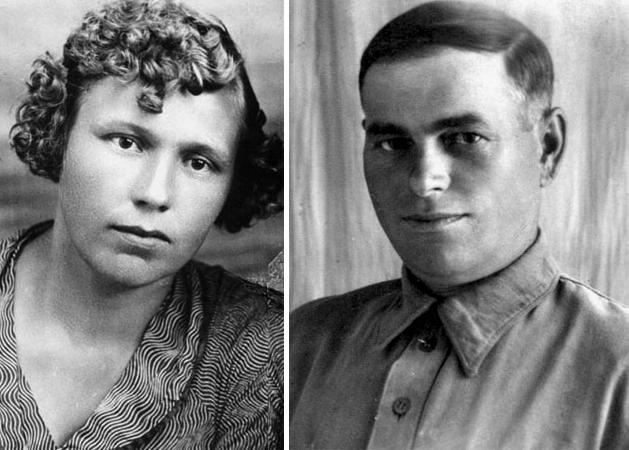 Родители — Александра Петровна и Максим Андреевич